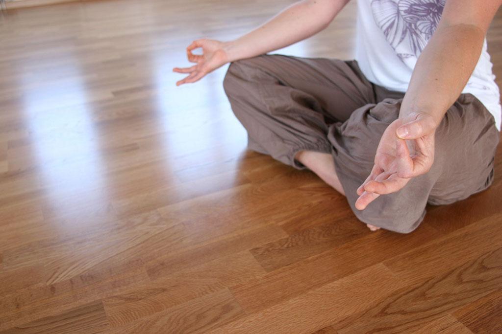 Meditation bei Ananda Yoga
