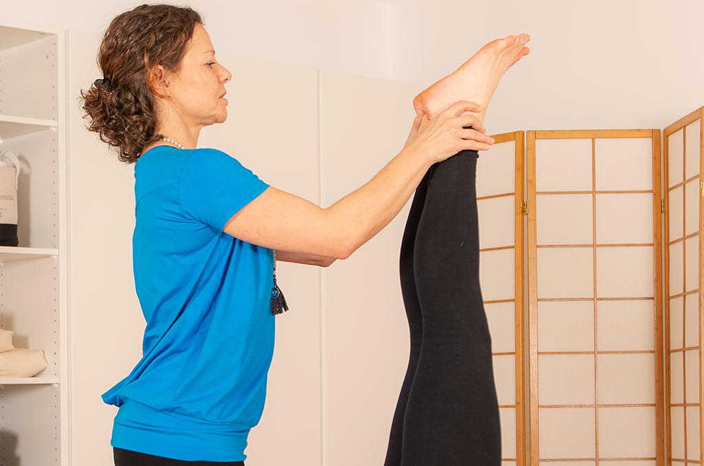Korrekte Ausführung der Asanas im Yoga Coaching