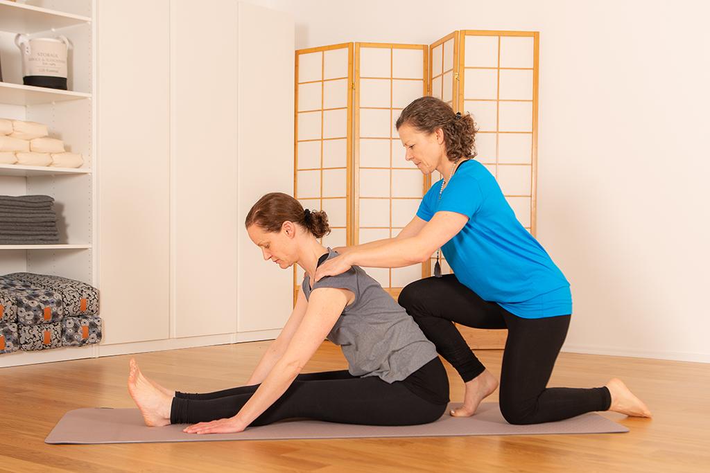 Korrekte Ausrichtung in den Yogaübungen